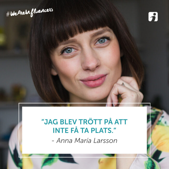 We Are Influencers – Episod 73 – Anna María Larsson