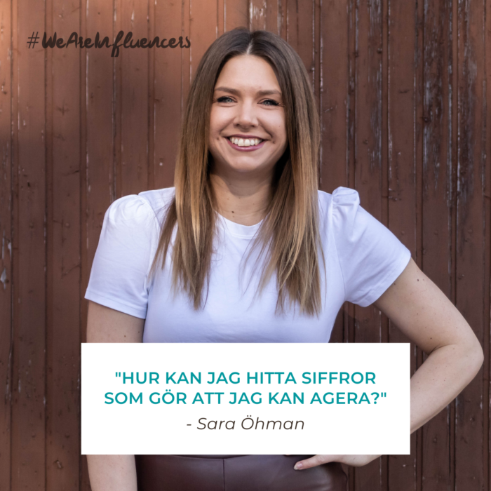 We Are Influencers - Sara Öhman